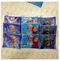 NEW HOT 12pcs FROZEN Coin Purses Mini Wallets Mix Lots Elsa Anna Cartoon Character Girls Children Kid Gift Fashion Wholesale