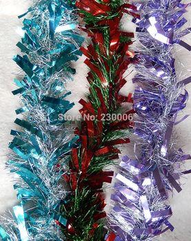 Бесплатная доставка новогодняя мишура украшения ну вечеринку мишура фестиваль украшение мишура