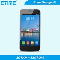 "SALE!!Green orange GO N1 Android 4.2  5"" 1080*720 IPS MT6589 quad-core 2G RAM+32G ROm 5.0+13MP CAMERA 3G 2500mAh Multi-languages"