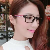 2014 wholesale fashion models in plain mirror frame Kuroshio men plain glass spectacles glasses imitation of Miss Gao Qing 8007