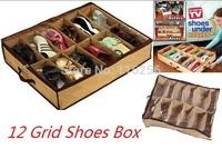 Free Shipping High quality Transparent Shoes Storage Box WaterProof /Home Storage box/ shoe box ZF268