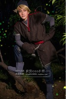 Snow Romance Actor Alex Rostov Kristoff Cos Clothes Cosplay Costume Frozen Kristoff Cosplay Suits Customized Size Retail