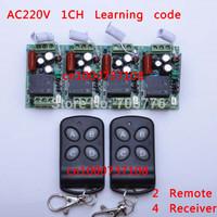 AC 220V 10A RF 1CH chanel china electrc switch RF 315mhz 433.92mhz remote receiver rf transmitter