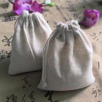 8*10cm Jute Drawstring Storage Bag Gift Packaging Storage Sack Bag Wedding Candy Linen Bag,Free Shipping