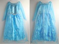Romance Frozen Elsa Cosplay Dress Frozen Elsa Party Dress In Stock Fast Shipping Quality Guarantee Frozen Elsa Dress For Party