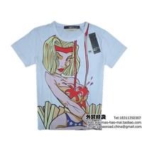 Mens T Shirts Fashion 2014 Summer New Cotton T-Shirt Casual Slim Short Sleeve For Men's Clothing Brand Tshirt Camisetas S001