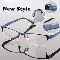 News High Quality spectacle eyeglasses metal Half-rim optical frames eyewear for men women Myopia glasses oculos de sol