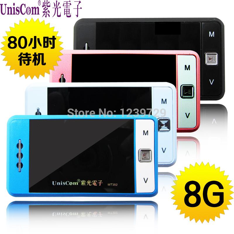MP3-плеер Uniscom MP3 T382 8G 80 плеер hyundai 3588 8g mp3