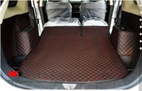 Good! Special trunk mats for 2014 Mitsubishi Outlander 5seats waterproof durable leather carpet for Outlander 2013,Free shipping