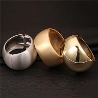 New Fashion Jewelry Brand Luxury Gold Plated Big Belly Round Bangle Women Bracelets VFBA134