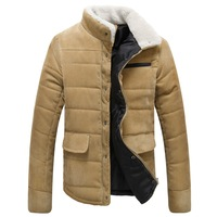 2014 Winter Brand New Men Winter Jackets Men Plus Size 3XL 4XL 5XL Stand Collar Winter Down Jacket Men Winter Coat