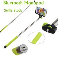 new hot sale telescopic handheld selfie monopod with clip for mobile phone sport camera gopro. Black Bedroom Furniture Sets. Home Design Ideas