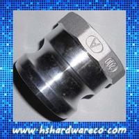 "Aluminum camlock (quick release camlock coupling) 2"" Part A"