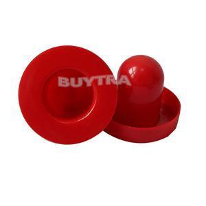 2014 New 2PCS 67mm Goalies 50mm Pucks Mini Air Hockey Table Felt Pusher mallet Brand red Air Hockey Pusher Set(China (Mainland))