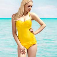 DYYY-0273 Hot-selling Sexy swimwear for women one piece trigonometric Bathing Suit Brand Design Monokini Beachwear Yellow