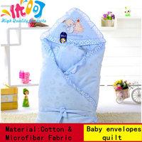 Hot  Newborn Kids Baby Blanket Toddler Cartoon rabbit Sleeping Bag Autumn And Winter keep warm