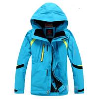 Hot sale Winter Outdoor sports Fashion Ski Coat Men High quality Waterproof  Thickening Keep warm Ski Jacket Women Free shipping