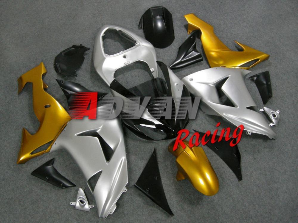 ZX10R High quality Kawasaki ZX10R Moto Kawasaki ZX10R ZX-10R 2006-2007 Injection Aftermarket ABS fairings body kits 0065(China (Mainland))