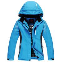 New Outdoor sports Mountaineering wear Ski Coat Men High quality Waterproof  Thickening Keep warm Ski Jacket Women Free shipping