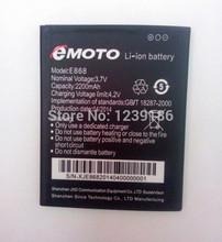 100% Original EMOTO Lithium Battery 2200mah For EMOTO E868 Octa core Cell Phones Free shipping