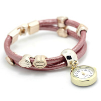 The latest ladies fashion decoration bracelet watches