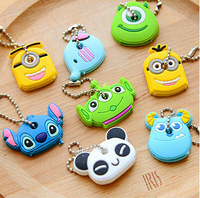 free shipping Key chain  colour and design shippment random 10pcs/bag
