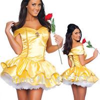 Fashion S/M/L/XL Sation sexy girls princess costumes