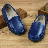 Small Kids Leather Shoes Flexible Rubber Baby Boy Shoes Girl Shoes