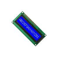 5pcs blue 161 1601 16X1 Character LCD Module Display Screen LCM SPLC780D