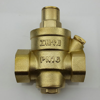 water pressure reducing valve, adjustable pressure valve, 3/4''
