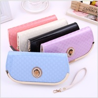 2014 New Hot Sale 5 color Wallet Women's Wallet  Leather Wallet Fashion Women- Free Shipping 001654