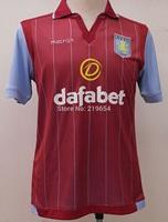 2015 Aston Villa FC Jersey soccer home Best top THAILAND quality WEIMANN 26 Aston villa 14 15 home IRELAND 7 jersey soccer shirt
