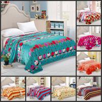 Free shipping! 230 x 250cm fleece blanket / coral fleece blanket / Farley blanket / leisure blanket tulip