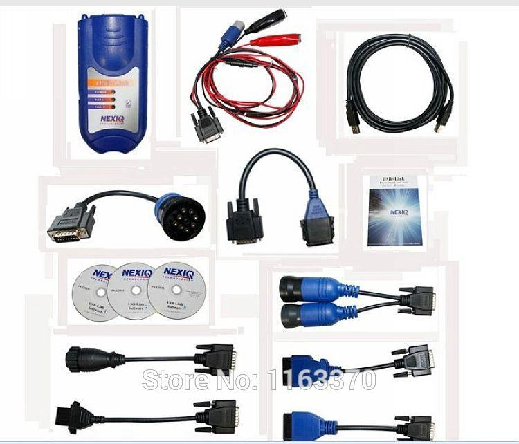 2014 New comming Auto scan tool NEXIQ 125032 USB Link high quality diesel truck interface NEXIQ USB Link on selling(China (Mainland))