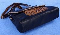 Fashion 2014 High quality  kardashian kollection brand black chain women's handbag shoulder bag big bag KK 10pcs/lot