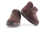 New 2014 Children Shoes Winter Snow Boots boys girls winter boots soild coffee/red/camel/orange rubber kids boots tenis infantil