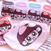 Free shipping girl underwear cartoon printed baby girl cute low Waist Briefs cotton  underwear