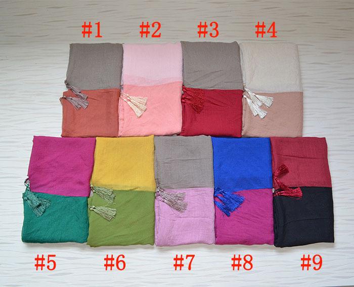 Women winter scarfs 2014,Free shipping,Plain hijab,Linen scarf,Muslim hijab,bandana,scarf women,ninja hijab,shawls and scarves(China (Mainland))
