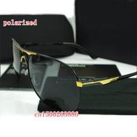 Wholesale new men's brand polarized sunglasses star models 8722 driver mirror metal brand designer polarized sunglasses for men