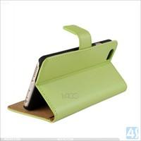 High Class Genuine Leather Folio Case for iPhone 6 Plus