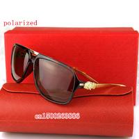 The new men's polarizer sunglasses driver mirror sunglasses big box brand glasses 974