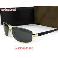 Men's star luxury brand new stylish retro sunglasses 760 driver mirror metal brand designer polarized sunglasses for men