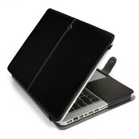 """Luxury PU Leather Protective Sleeve Laptop Case Cover Holster Shell For Macbook 11.3"""" 13.3"""" 15.4"""" Air Pro Retina New Year Gift"""