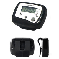 Portable Digital Hike Pedometer Calorie Monitor Running Counter Hiking Tools