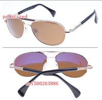 The blue film plating lens men's metal polarized sunglasses  MB367 free shipping