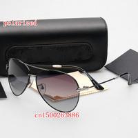 New fashion large frame sunglasses 2835 brand men's polarizer sunglasses