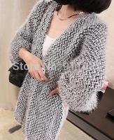 Free shipping/Han edition of 2014 long sweater cardigan sweater Loose coat
