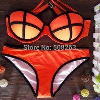 On Sale Fashion Models Bikini set women Summer swimsuit Swimwear bikinis 5 Colors BK61