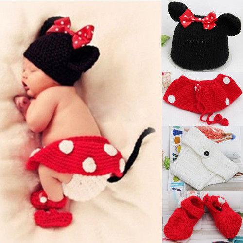 Compra minni mouse crochet hat online al por mayor de China ...