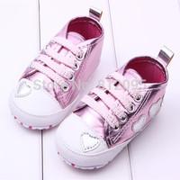 LittleSpring Retail 1 pair Baby Toddler shoes!Hot sale! baby shoes slip toddler infant baby shoes first walker